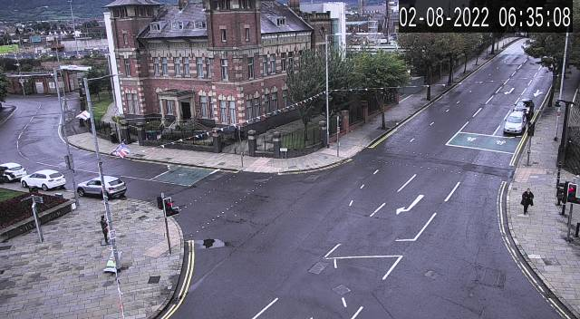 CCTV Camera image for A55 Knock Road