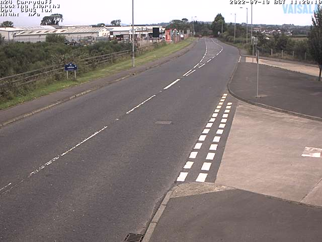 CCTV Camera image for A24 Carryduff