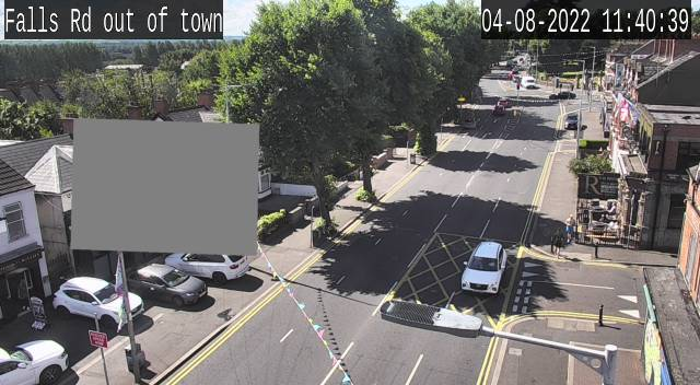 CCTV Camera image for Falls Road - Grosvenor Road
