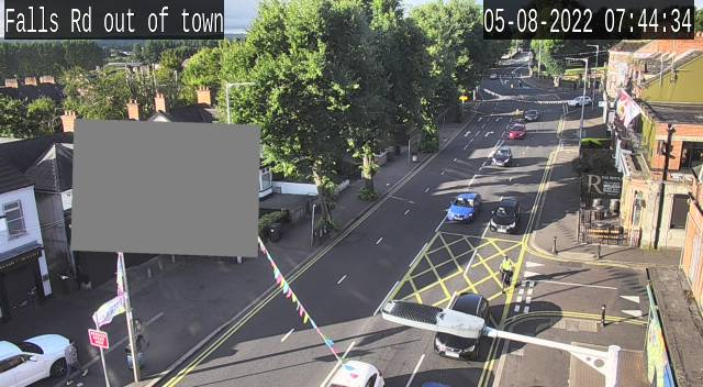 CCTV Camera image for Falls Road - Donegall Road