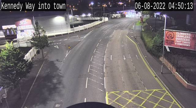 CCTV Camera image for Andersonstown Road / Kennedy Way