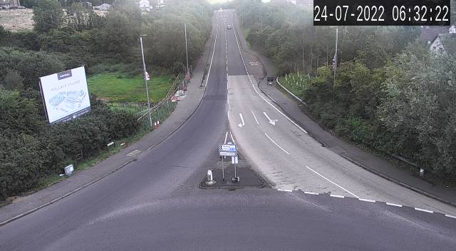 CCTV Camera image for Prince William Rd - Lisburn North Feeder Rd