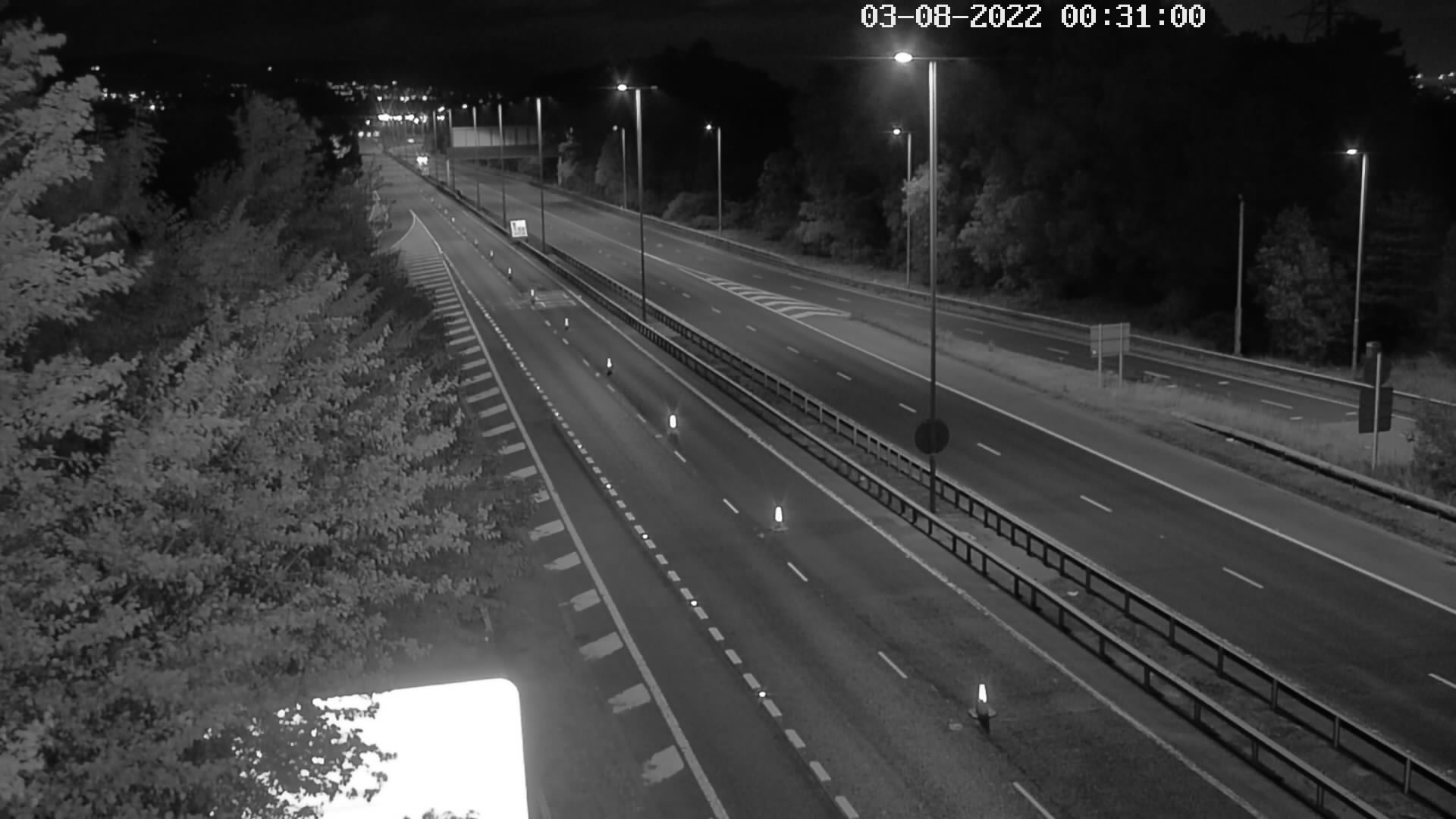 CCTV Camera image for M1 - Blacks Rd - Jct 3