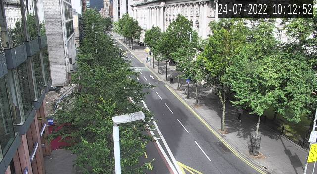 CCTV Camera image for Donegal Square South-Adelaide Street