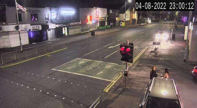 CCTV Camera image for Finaghy Crossroads