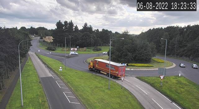 CCTV Camera image for A1 - Hillsborough Road Roundabout