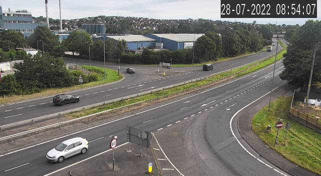 CCTV Camera image for A1 - B10 Overbridge Junction