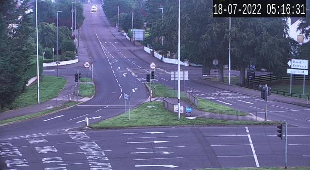 CCTV Camera image for Lodge Rd R'bout Lodge Coleraine