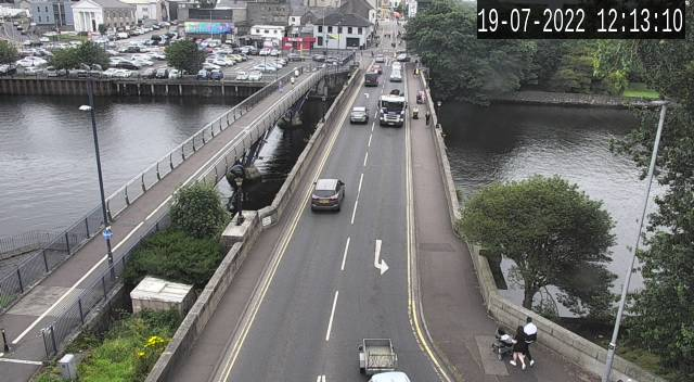 CCTV Camera image for Old Bridge Coleraine