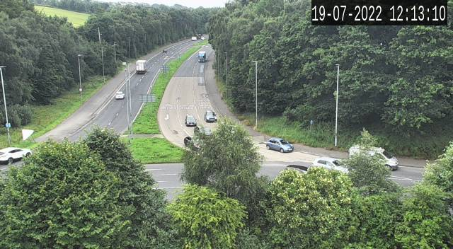 CCTV Camera image for Caw Roundabout