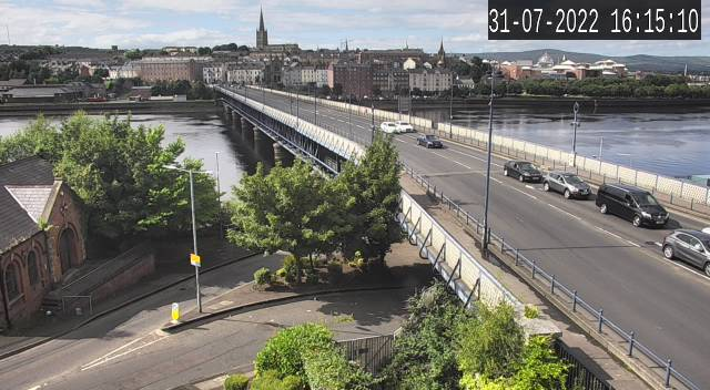 CCTV Camera image for Craigavon Bridge