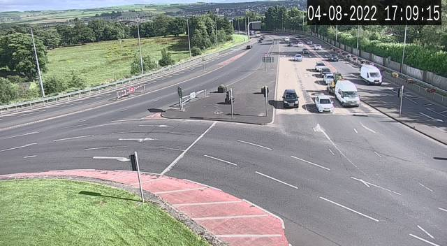 CCTV Camera image for Culmore Roundabout