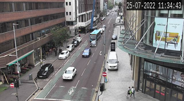 CCTV Camera image for Chichester Street
