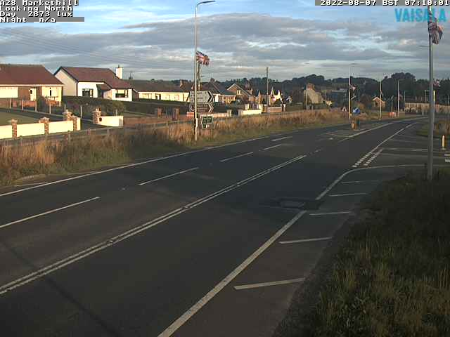 CCTV Camera image for A28 Markethill