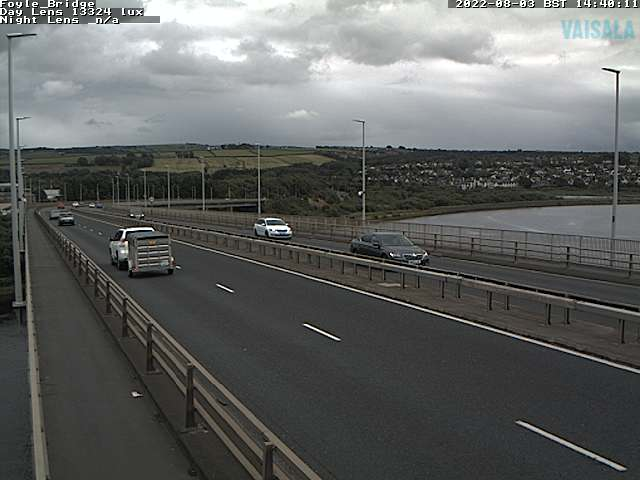CCTV Camera image for Foyle Bridge